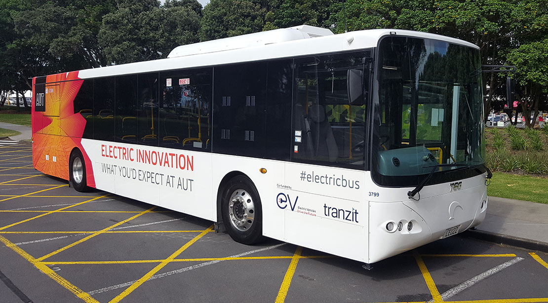 1st 100% Electric Bus Built in NZ