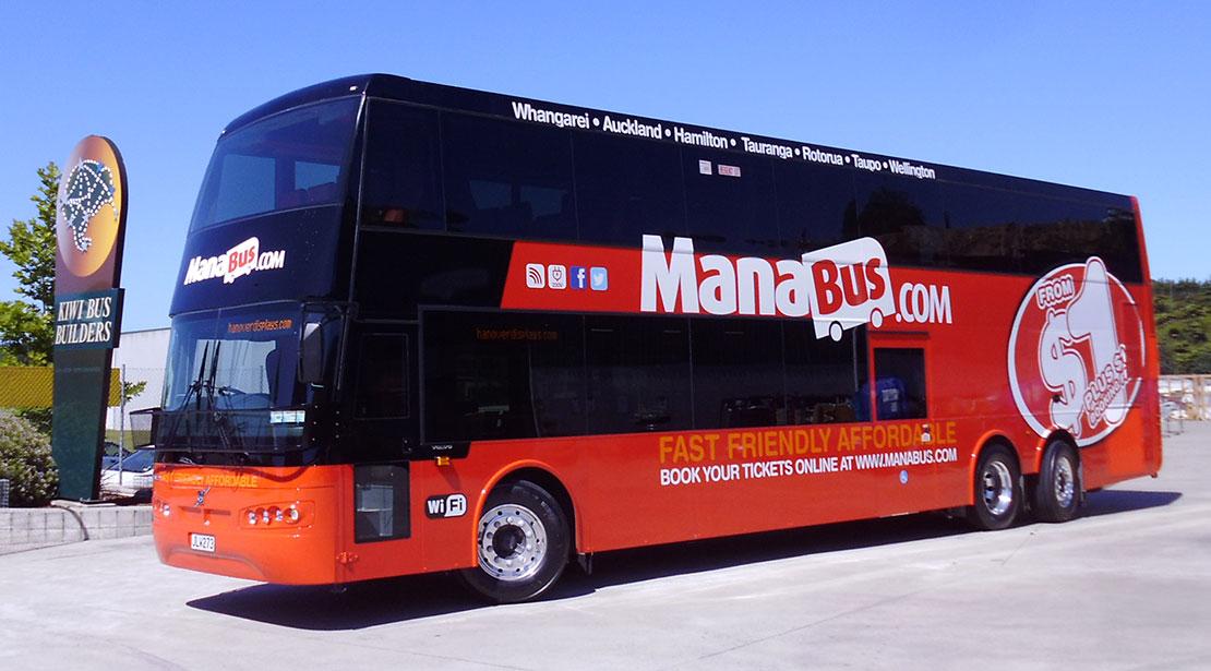 Mana bus double decker bus