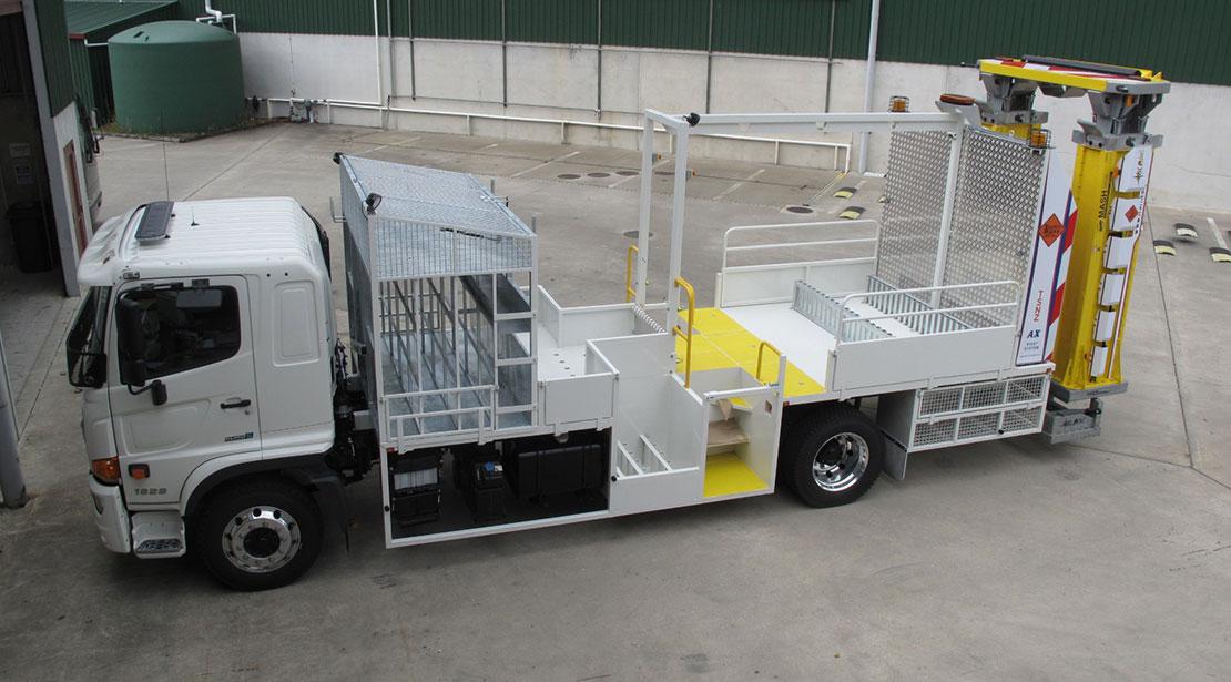 Truck decks purpose-built
