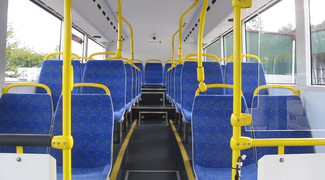 Urban and city bus seats