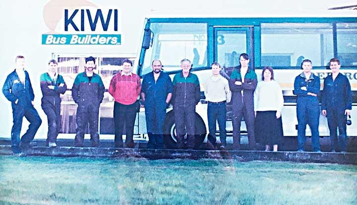 kiwi bus builders 1993